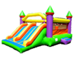 Kiddie Package Combo Bouncer Slide
